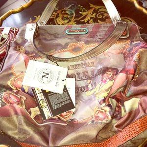 Authentic nicole lee handbag brand new
